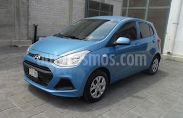 Foto venta Auto usado Hyundai Grand i10 GL MID (2017) color Aqua precio $160,000