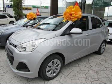 Foto venta Auto Usado Hyundai Grand i10 GL (2017) color Plata precio $150,000