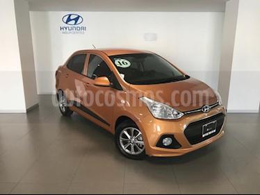 Foto venta Auto Seminuevo Hyundai Grand i10 GLS Aut (2016) color Naranja precio $164,000