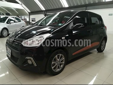 Foto venta Auto Seminuevo Hyundai Grand i10 GLS Aut (2017) color Negro precio $149,000