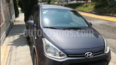 Foto venta Auto usado Hyundai Grand i10 GLS (2017) color Gris precio $155,000