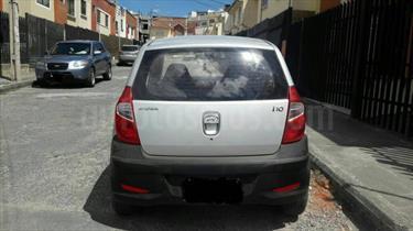 Foto venta Auto usado Hyundai i10 1.1 Ac (2014) color Gris precio u$s3.800