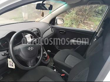 Hyundai i10 1.1 GLS Ac usado (2013) color Blanco precio $3.500.000