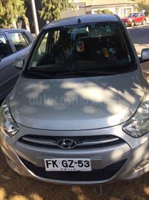 Foto venta Auto usado Hyundai i10 1.1 GLS Plus (2013) color Gris precio $3.200.000