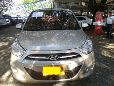Hyundai i10 1.1 usado (2013) color Beige Trigo precio $23.000.000
