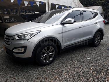 Hyundai Santa Fe 2.4 4x2  usado (2014) color Plata Continental precio $92.000.000