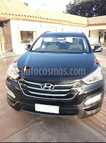 Hyundai Santa Fe 2.4 GLS 4x2 Aut usado (2014) color Negro Phantom precio $13.200.000