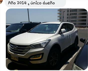 Foto venta Auto usado Hyundai Santa Fe 2.4 GLS 4x2 (2014) color Blanco Crema precio $11.500.000