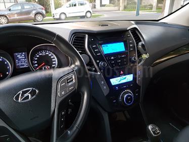 Hyundai Santa Fe 2.4 GLS 4x2 usado (2014) color Gris Platino precio $13.250.000