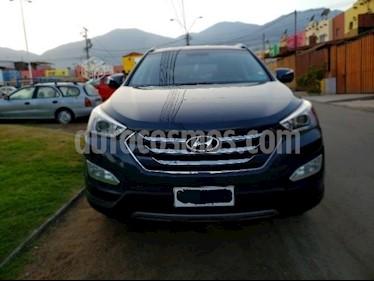 Hyundai Santa Fe 2.4 GLS 4x4 Aut usado (2014) color Azul precio $13.950.000