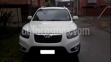 Hyundai Santa Fe 2.4L GLS 4x4 Aut Full usado (2011) color Blanco precio $9.000.000