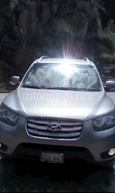 Foto venta Auto usado Hyundai Santa Fe 2.4L GLS 4x4 (2010) color Gris precio u$s13,500