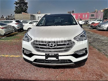 Foto venta Auto Seminuevo Hyundai Santa Fe Sport 2.0L Turbo (2017) color Blanco Perla precio $425,000