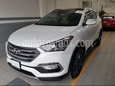 Foto venta Auto Seminuevo Hyundai Santa Fe Sport 2.0L Turbo (2018) color Blanco Perla precio $432,000