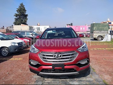 Foto venta Auto Seminuevo Hyundai Santa Fe Sport 2.0L Turbo (2017) color Rojo precio $425,000