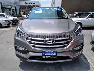 Foto venta Auto Seminuevo Hyundai Santa Fe Sport 2.0L Turbo (2018) color Gris Mineral precio $489,000