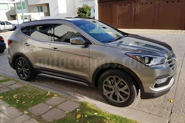 Foto venta Auto Usado Hyundai Santa Fe Sport 2.0L (2017) color Gris Mineral precio $449,000