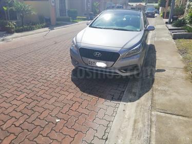 Foto Hyundai Sonata Hibrido 2.0L GL  Plus Aros usado (2017) color Gris Quarzo precio u$s29.000
