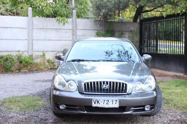 Foto venta Auto usado Hyundai Sonata GLS 2.0 Aut (2003) color Gris precio $2.750.000