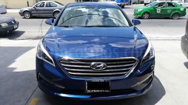 Foto venta Auto Seminuevo Hyundai Sonata GLS (2015) color Azul precio $214,000