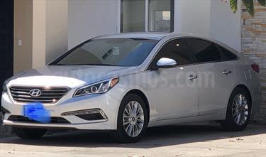 Foto venta Auto usado Hyundai Sonata Premium (2015) color Plata precio $260,000
