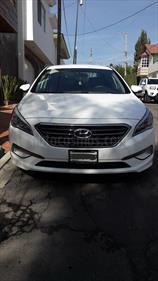 Foto venta Auto usado Hyundai Sonata Premium (2015) color Blanco precio $245,000