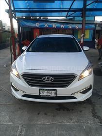 Foto venta Auto usado Hyundai Sonata Premium (2016) color Blanco precio $240,000