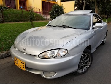 Foto venta Carro Usado Hyundai Tiburon Sinc. (1990) color Plata precio $16.500.000