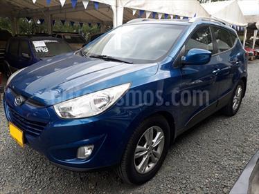 Foto venta Carro usado Hyundai Tucson 2.0 4x4 Aut  (2011) color Azul precio $49.000.000