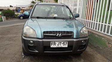 Foto venta Auto usado Hyundai Tucson  2.0 GL 4x2 (2006) color Azul Metalizado precio $3.600.000