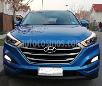 Hyundai Tucson  2.0L GL Advance Nav usado (2017) color Celeste precio $13.400.000