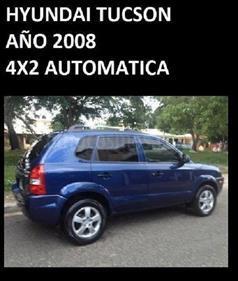 Foto venta carro usado Hyundai Tucson Full Equipo (2008) color Azul precio u$s6.500