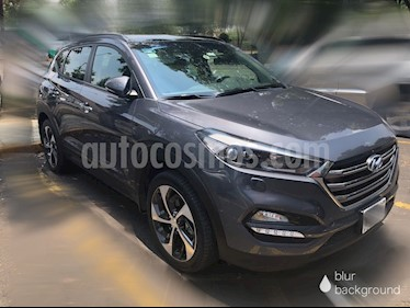 Hyundai Tucson Limited Tech usado (2018) color Gris precio $398,000