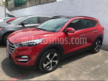 Foto venta Auto Usado Hyundai Tucson Limited Tech (2017) color Rojo precio $335,000