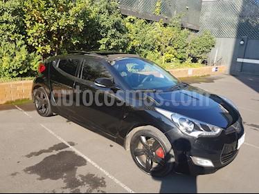 Hyundai Veloster 1.6 GSL Full  usado (2015) color Negro Phantom precio $8.250.000