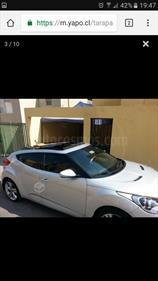 Foto venta Auto usado Hyundai Veloster GLS 1.6 Premium  (2014) color Gris Plata  precio $9.320.000