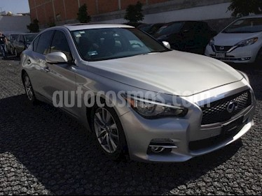 Foto venta Auto Seminuevo Infiniti Q50 3.7 PERFECTION AT 4P (2015) color Plata precio $298,000