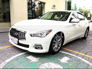 Foto venta Auto Seminuevo Infiniti Q50 3.7 PERFECTION AT 4P (2016) color Blanco precio $390,000