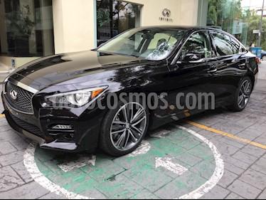 Foto venta Auto Seminuevo Infiniti Q50 400 Sport (2017) color Negro precio $600,000