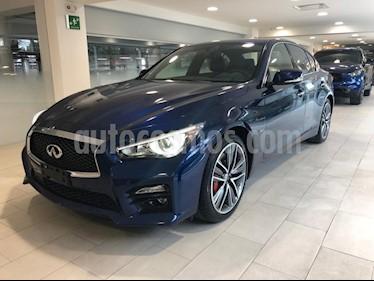 Foto venta Auto Seminuevo Infiniti Q50 400 Sport (2017) color Azul precio $650,000