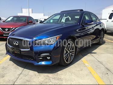Foto venta Auto Seminuevo Infiniti Q50 400 Sport (2017) color Azul Cobalto precio $660,000