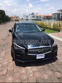 Foto venta Auto usado Infiniti Q50 Hybrid (2015) color Negro precio $390,000