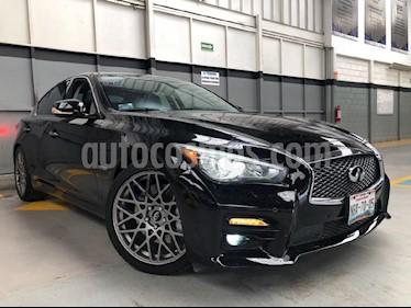 Foto venta Auto Seminuevo Infiniti Q50 Hybrid (2015) color Negro precio $340,000