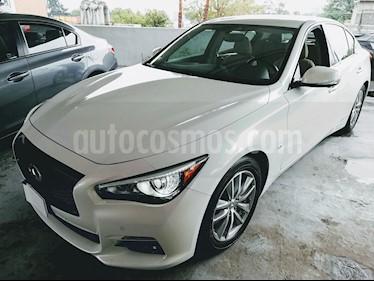 Foto venta Auto Seminuevo Infiniti Q50 Perfection (2015) color Blanco Nieve precio $295,000