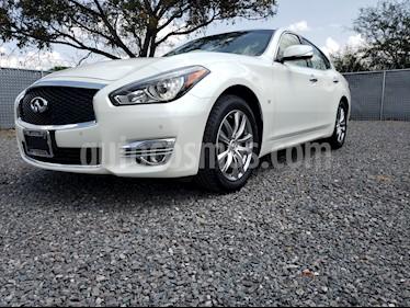 Foto venta Auto Seminuevo Infiniti Q70 Seduction 3.7 (2017) color Blanco precio $670,000