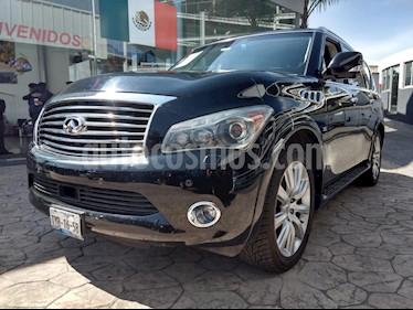 Foto venta Auto Usado Infiniti QX80 56 8 Pasajeros  (2014) color Negro precio $575,000