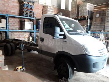 Foto venta Auto Usado Iveco Daily Chasis Chasis Cabina Simple 70C16 Truck (2014) color Blanco precio $550.000