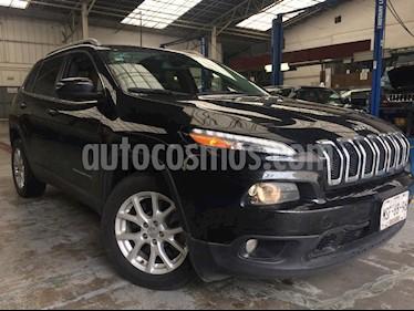 Foto venta Auto Usado Jeep Cherokee Latitude (2015) color Negro precio $279,999