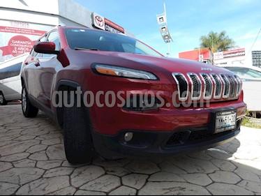 Foto venta Auto Seminuevo Jeep Cherokee Latitude (2014) color Rojo precio $245,000