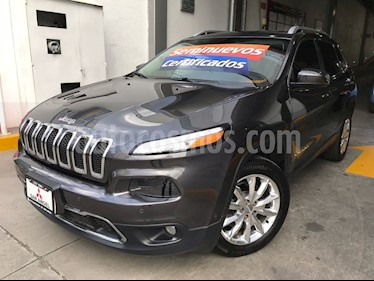Foto venta Auto Usado Jeep Cherokee Limited Plus (2015) color Granito precio $310,000